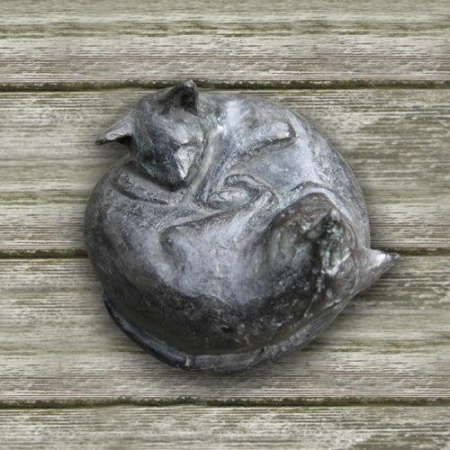 Slapende katjes | 2008 | Ø 8 cm | oplage 5