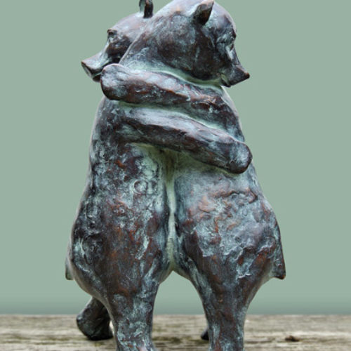 Knuffelberen | 2014 | 15 x 25 cm | oplage 8 | UITVERKOCHT | SOLD OUT
