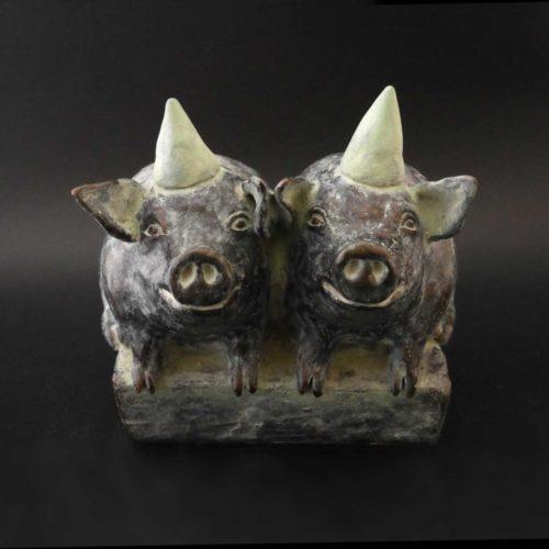 Feestvarkens | 2009 | 15 x 15 cm | oplage 5