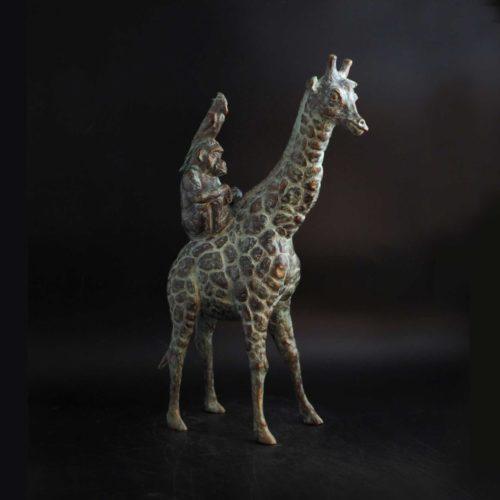 Stapel op safari II | 2019 | 35 x 20 cm
